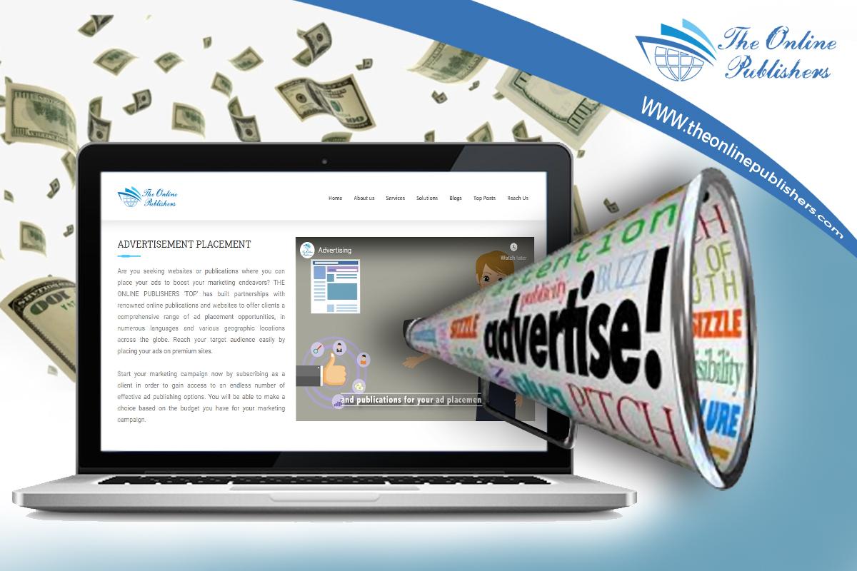 Online Banner for Advertising